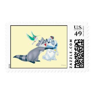 Meeko & Friends Stamps