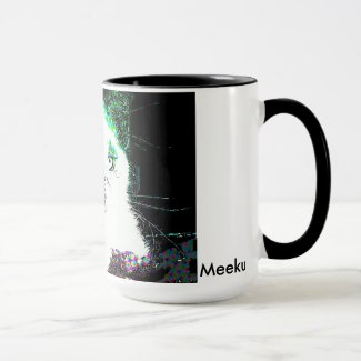 Meeku Pop Art Coffee Mug