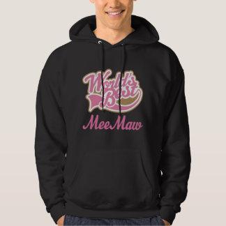 Meemaw Gift Pink Hoodie