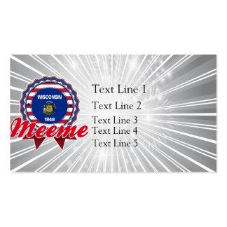 Meeme, WI Business Card Template