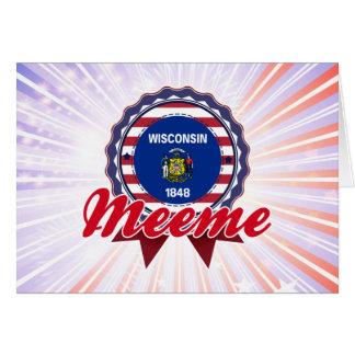 Meeme, WI Card