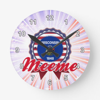 Meeme, WI Round Clocks