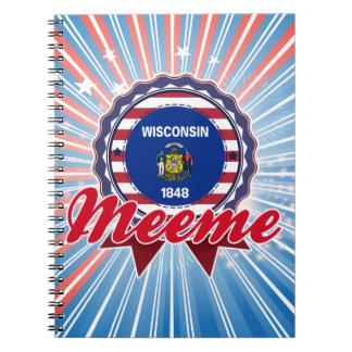 Meeme, WI Spiral Note Books