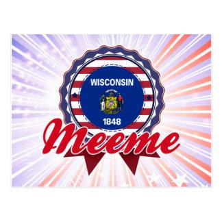 Meeme, WI Postcard