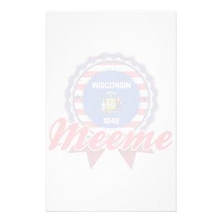 Meeme, WI Customized Stationery