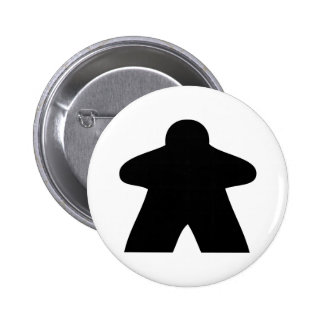 Meeple Button Pin