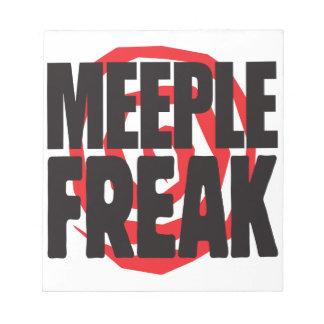 Meeple Freak Memo Notepads