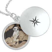 Meerkat20160203 Locket Necklace