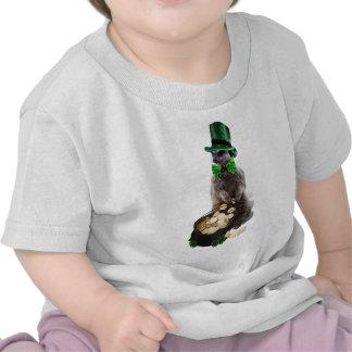 Meerkat afortunado camisetas