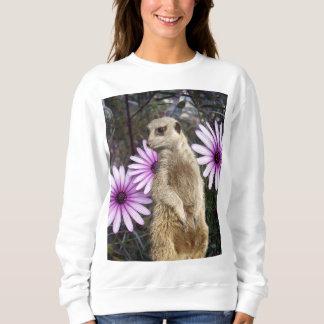 Meerkat And Daisies, Sweatshirt