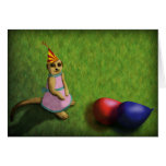 Meerkat Birthday, greeting card