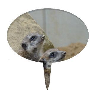Meerkat Cake Pick