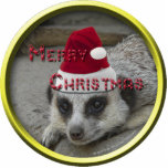 Meerkat Christmas Ornament Acrylic Cut Out