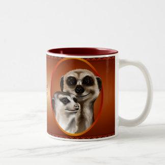 Meerkat Couple Mugs