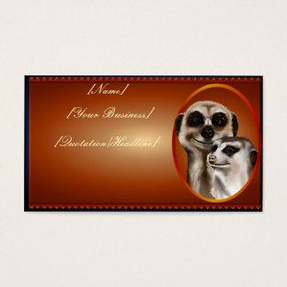 Meerkat Couple  profilecard_business_horizontal... Business Card