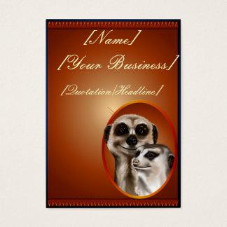 Meerkat Couple profilecard_chubby_vertical, [Na... Business Card