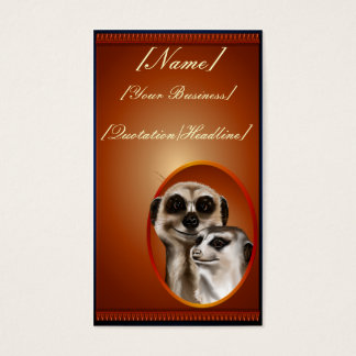 Meerkat Couplet  profilecard_business_vertical.... Business Card
