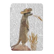 Meerkat Cowboy iPad Mini Cover