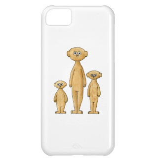 Meerkat Family. Cover For iPhone 5C