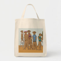 Meerkat Family Portrait Bag
