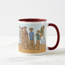 Meerkat Family Portrait Mug