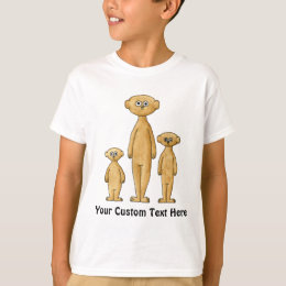 Meerkat Family. T-Shirt
