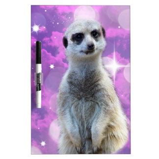 Meerkat Glitter Ball,_ Dry-Erase Board