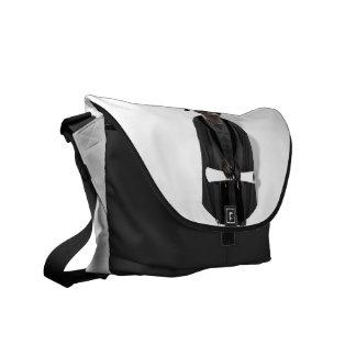 Meerkat Graduate W/Grey Gown & Black Sash Messenger Bag