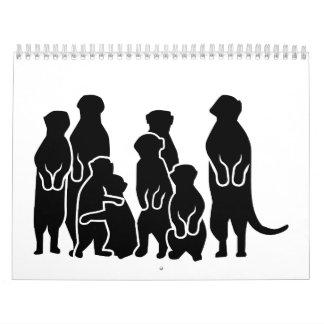 Meerkat group calendar