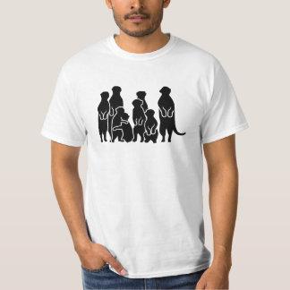 Meerkat group tee shirt