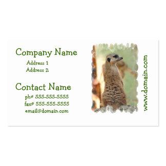 Meerkat Guard Business Cards