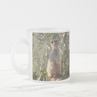 Meerkat_Guard,_Frosted_Beer_Coffee_Mug. Frosted Glass Coffee Mug