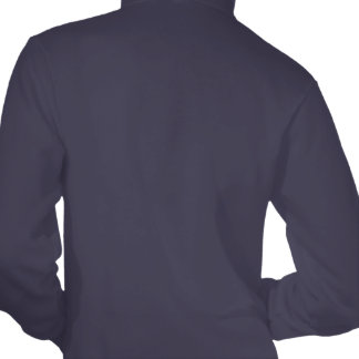 Meerkat_Guard,_Ladies_Navy_Fleece_Zip_Hoodie. Hooded Pullovers