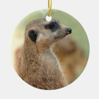 Meerkat Guard Ornament