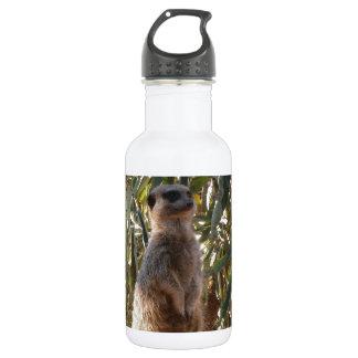 Meerkat_Guard,_ 18oz Water Bottle