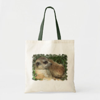Meerkat Habitat Budget Tote Tote Bags