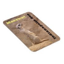 Meerkat Indianapolis Zoo Magnet