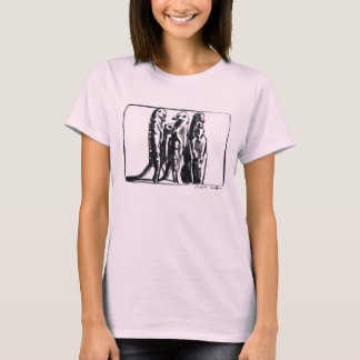Meerkat Ladies T-shirt - Dafila Scott's charcoal