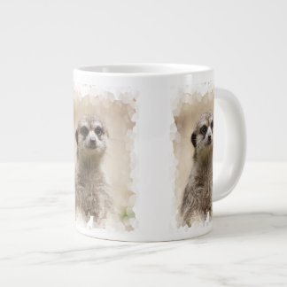 Meerkat Large Coffee Mug