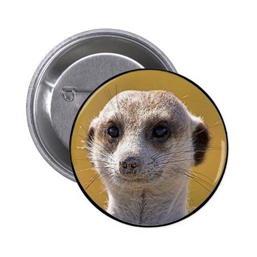 """Meerkat lindo "" Pins"