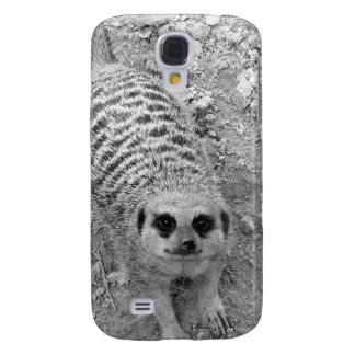 Meerkat looking up from ground photograph pic samsung s4 case