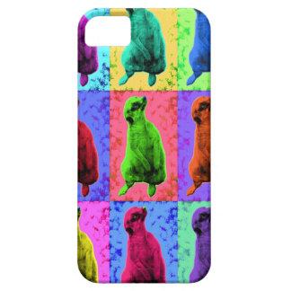 Meerkat Looking Up Pop Art Popart Multi-Panel iPhone SE/5/5s Case