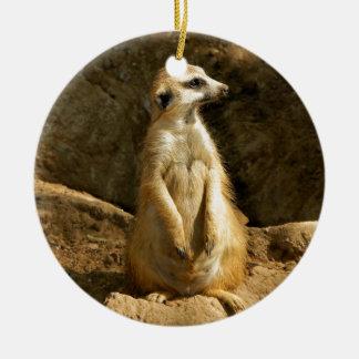 Meerkat Lookout.jpg Christmas Tree Ornaments