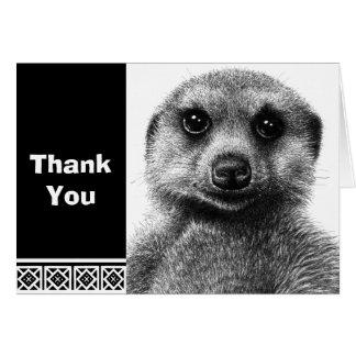 Meerkat Note Card