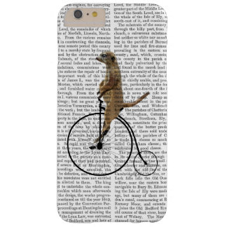 Meerkat on Black Penny Farthing Barely There iPhone 6 Plus Case