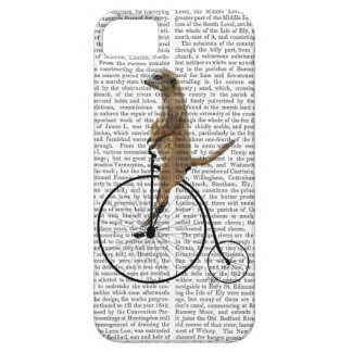 Meerkat on Black Penny Farthing iPhone SE/5/5s Case