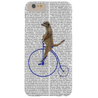 Meerkat On Blue Penny Farthing Barely There iPhone 6 Plus Case