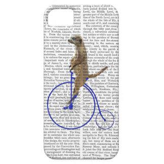 Meerkat On Blue Penny Farthing iPhone SE/5/5s Case