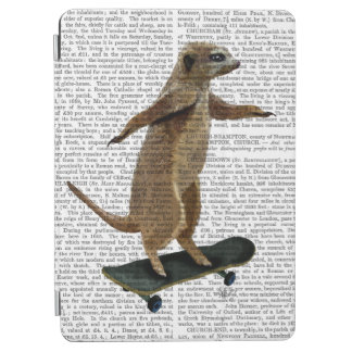 Meerkat On Skateboard 2 iPad Air Cover