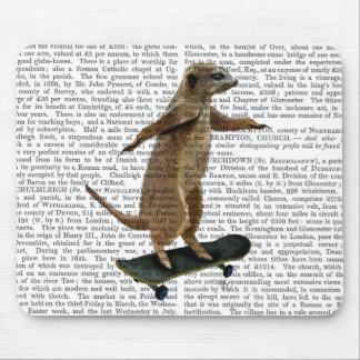 Meerkat On Skateboard 2 Mouse Pad